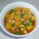 bolivian-food-beans-with-vegetables