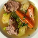 british-food-leek-and-pork-broth