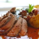 canadian-food-duck-breast-with-raspberry-sauce
