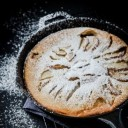 canadian-food-pear-and-chocolate-clafoutis