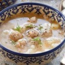 chicken-recipes-chicken-soup-with-meatballs