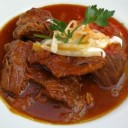 hungarian-food-goulash-with-red-wine-sauce