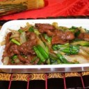 mongolian-food-beef-with-bok-choy