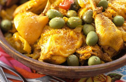 moroccan-food-chicken-with-olives