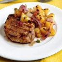 portuguese-food-pork-ternderloin-with-pineapple