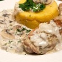 romanian-food-pui-cu-smantana-chicken-with-cream