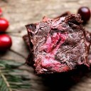 Cranberry-Christmas-Brownies